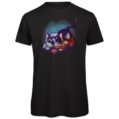 Motiv: Organic T-Shirt - Pan Tau - Geralt (witcher)
