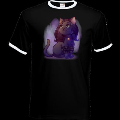 Motiv: T-Shirt Ringer - Maya - Yennefer (witcher)