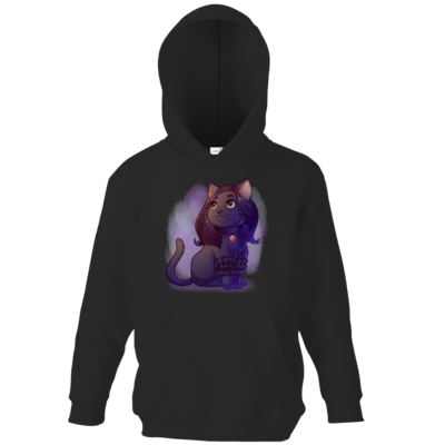 Motiv: Kids Hooded Sweat - Maya - Yennefer (witcher)