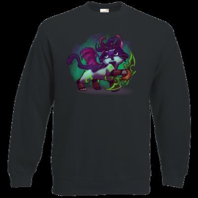 Motiv: Sweatshirt Classic - Pan Tau - Illidan (wow)