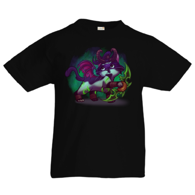 Motiv: Kids T-Shirt Premium FAIR WEAR - Pan Tau - Illidan (wow)