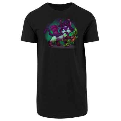 Motiv: Shaped Long Tee - Pan Tau - Illidan (wow)