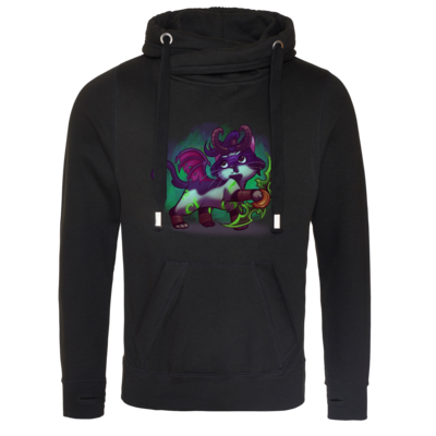 Motiv: Cross Neck Hoodie - Pan Tau - Illidan (wow)