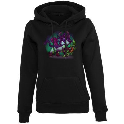 Motiv: Womens Heavy Hoody - Pan Tau - Illidan (wow)