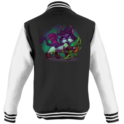 Motiv: College Jacke - Pan Tau - Illidan (wow)