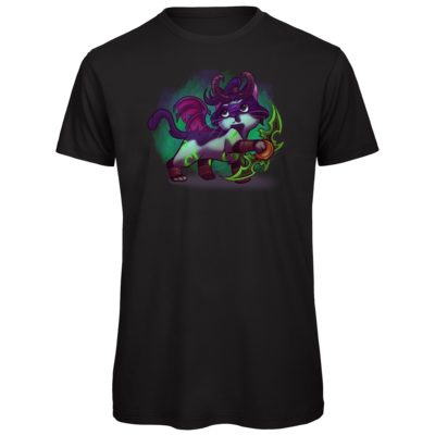 Motiv: Organic T-Shirt - Pan Tau - Illidan (wow)