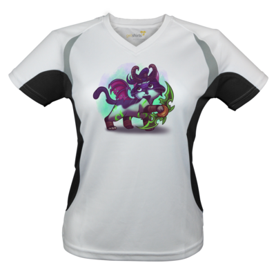 Motiv: Laufshirt Lady Running T - Pan Tau - Illidan (wow)