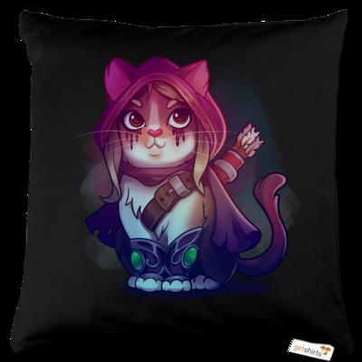 Motiv: Kissen Baumwolle - Kitty - Sylvanas (wow)