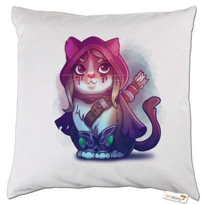 Motiv: Kissen - Kitty - Sylvanas (wow)