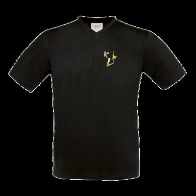 Motiv: T-Shirt V-Neck FAIR WEAR - KL Logo 2019