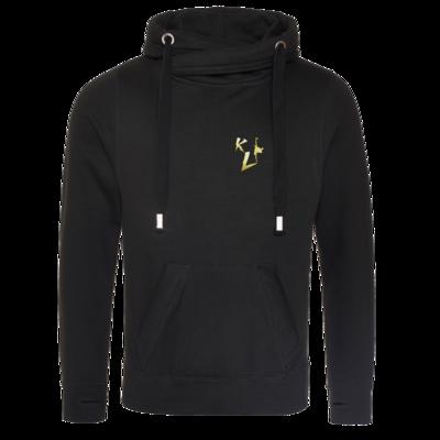 Motiv: Cross Neck Hoodie - KL Logo 2019