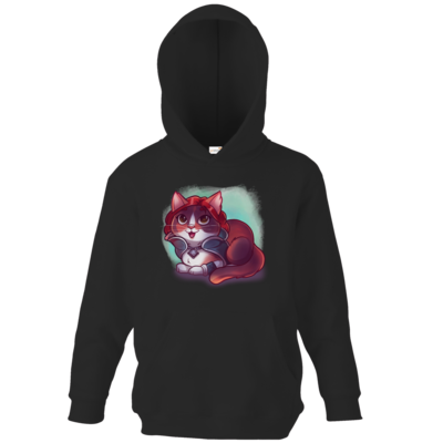 Motiv: Kids Hooded Sweat - Kitty - Triss (witcher)