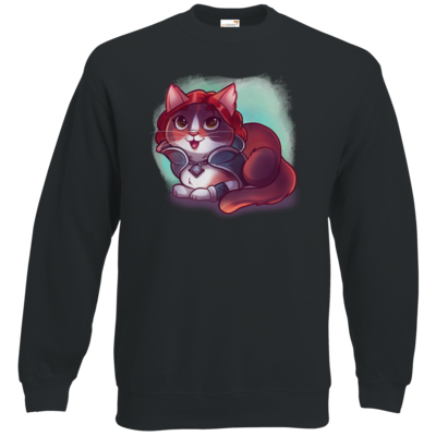 Motiv: Sweatshirt Classic - Kitty - Triss (witcher)