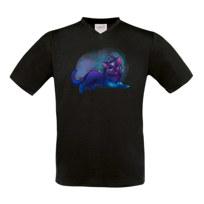 Motiv: T-Shirt V-Neck FAIR WEAR - Maya - Tyrande (wow)