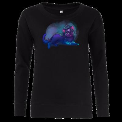 Motiv: Girlie Crew Sweatshirt - Maya - Tyrande (wow)