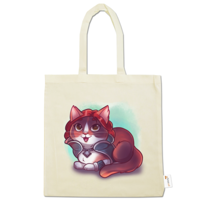 Motiv: Baumwolltasche - Kitty - Triss (witcher)