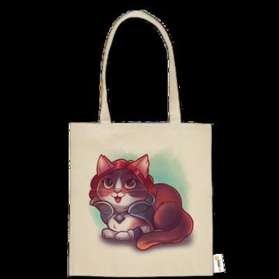 Motiv: Baumwolltasche - Kitty - Triss (witcher)