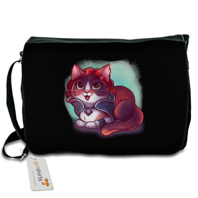 Motiv: Schultertasche - Kitty - Triss (witcher)