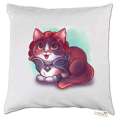 Motiv: Kissen - Kitty - Triss (witcher)
