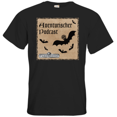 Motiv: T-Shirt Premium FAIR WEAR - Aventurischer Podcast Cover