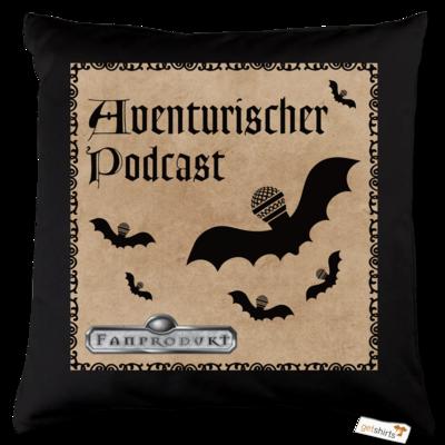 Motiv: Kissen Baumwolle - Aventurischer Podcast Cover
