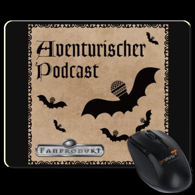 Motiv: Mousepad Textil - Aventurischer Podcast Cover