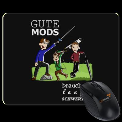 Motiv: Mousepad Textil - Mods mit Text 2