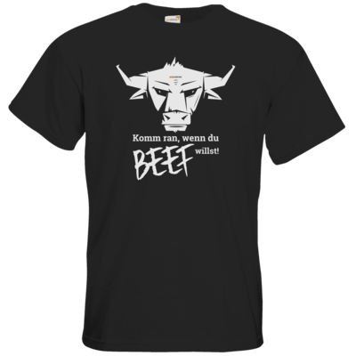 Motiv: T-Shirt Premium FAIR WEAR - Willste Beef?