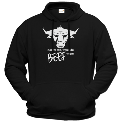 Motiv: Hoodie Premium FAIR WEAR - Willste Beef?