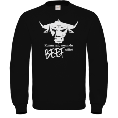 Motiv: Sweatshirt FAIR WEAR - Willste Beef?