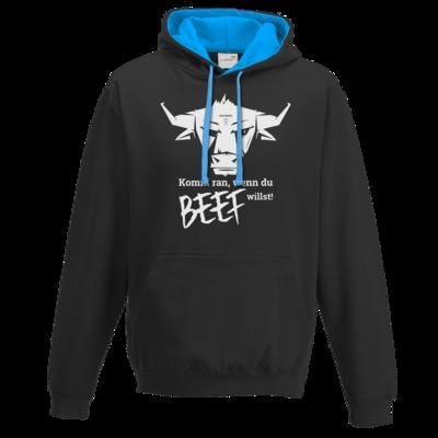 Motiv: Two-Tone Hoodie - Willste Beef?