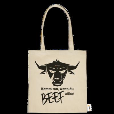 Motiv: Baumwolltasche - Willste Beef?