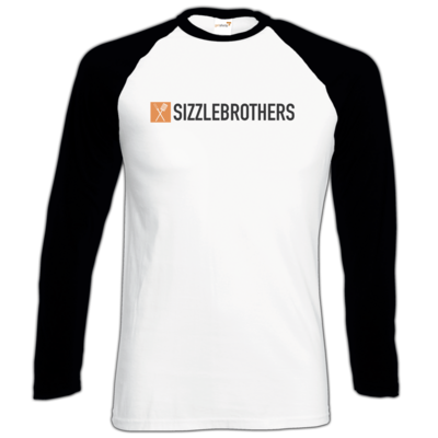 Motiv: Longsleeve Baseball T - SizzleBrothers Logo