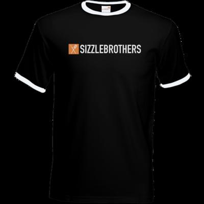 Motiv: T-Shirt Ringer - SizzleBrothers Logo