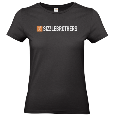 Motiv: T-Shirt Damen Premium FAIR WEAR - SizzleBrothers Logo