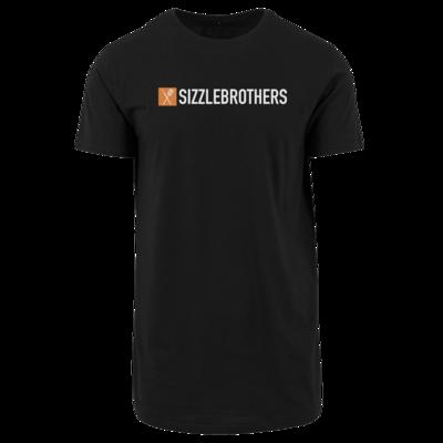 Motiv: Shaped Long Tee - SizzleBrothers Logo