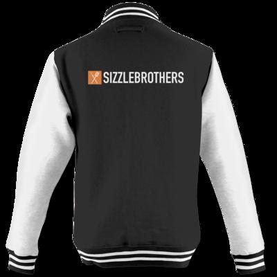 Motiv: College Jacke - SizzleBrothers Logo