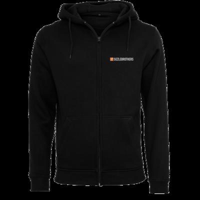 Motiv: Heavy Zip-Hoodie - SizzleBrothers Logo