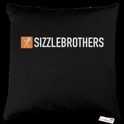 Motiv: Kissen Baumwolle - SizzleBrothers Logo