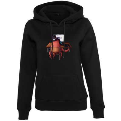 Motiv: Womens Heavy Hoody - Supporter Krake
