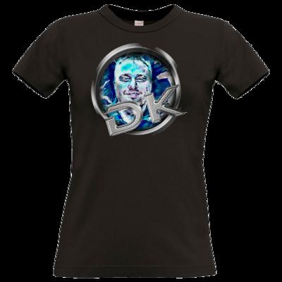 Motiv: T-Shirt Damen Premium FAIR WEAR - dekellner Logo Blau