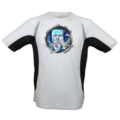 Motiv: Laufshirt Running T - dekellner Logo Blau