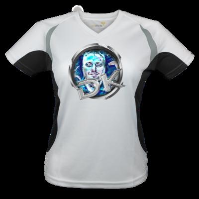 Motiv: Laufshirt Lady Running T - dekellner Logo Blau