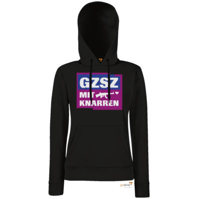 Motiv: Hoodie Damen Classic - GZSZ mit Knarren