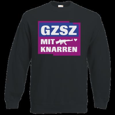 Motiv: Sweatshirt Classic - GZSZ mit Knarren