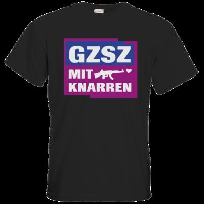 Motiv: T-Shirt Premium FAIR WEAR - GZSZ mit Knarren