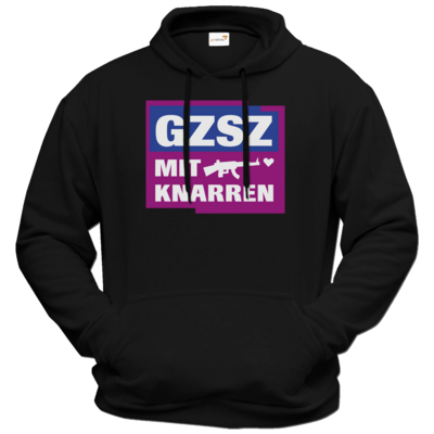 Motiv: Hoodie Premium FAIR WEAR - GZSZ mit Knarren