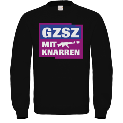 Motiv: Sweatshirt FAIR WEAR - GZSZ mit Knarren