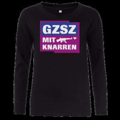 Motiv: Girlie Crew Sweatshirt - GZSZ mit Knarren