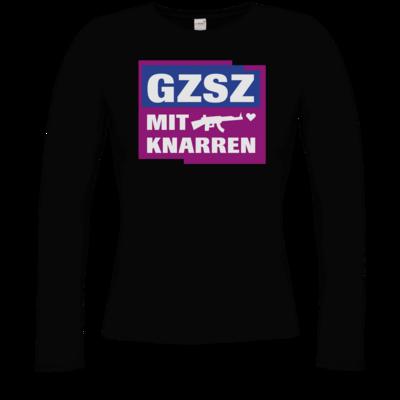 Motiv: Longsleeve Damen Organic - GZSZ mit Knarren